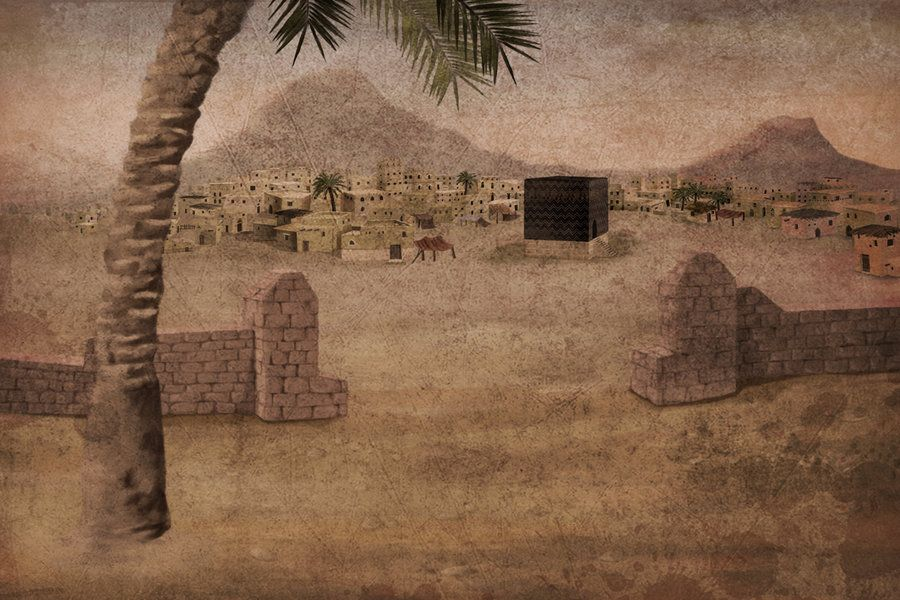 mecca in ancient world