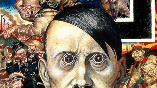 A 1942 Szyk work depicting Hitler as the Anti-Christ