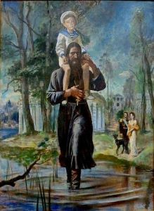 Painting by St Peterburg's painter,Michael G. Kudrevatykh
