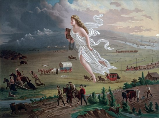 American_Progress_(John_Gast_painting) 1872