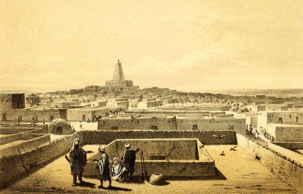 View of Timbuktu, Heinrich Barth (1858)
